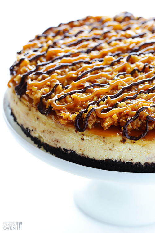 Samoa Cheesecake | Gimme Some Oven