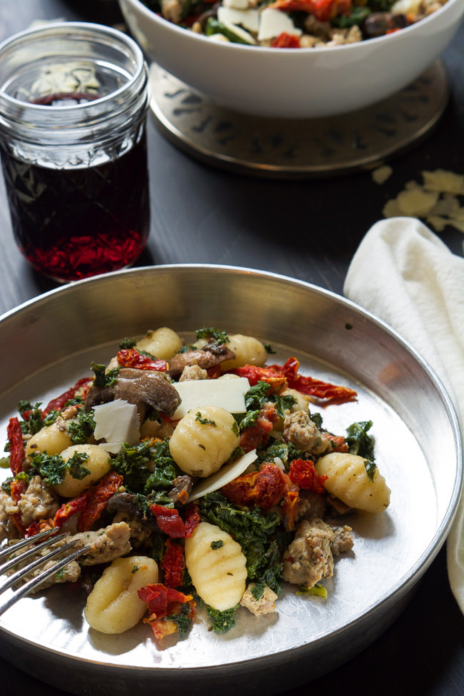 Gnocchi chicken recipe tomato