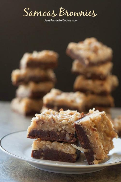 Samoa Brownies | Jens Favorite Cookies