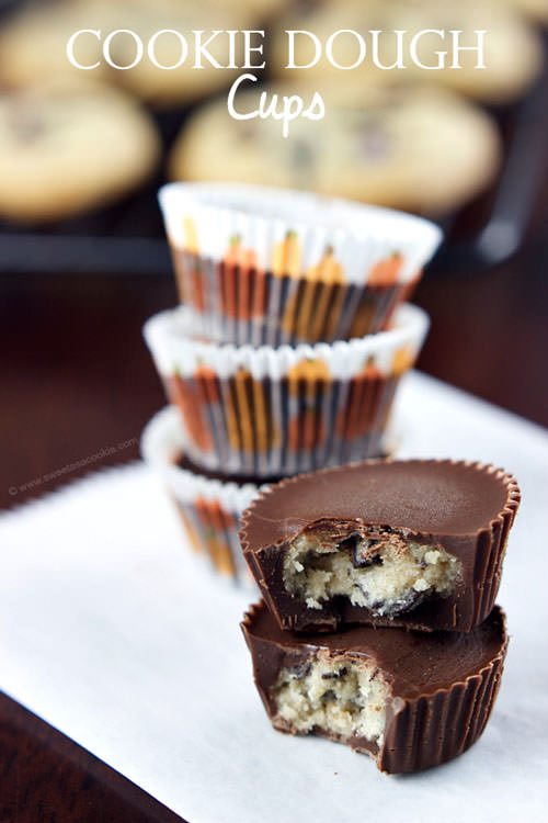 Cooke Dough Cups | Sweet as a Cookie