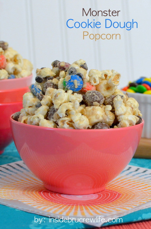 Monster Cookie Dough Popcorn | Inside BruCrew Life