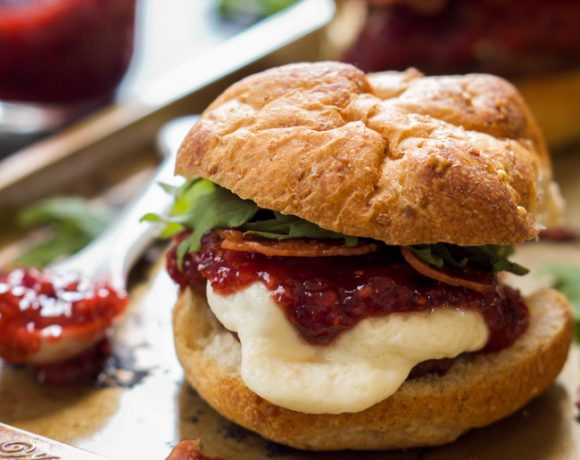 Raspberry Chipotle Mozzarella Sirloin Sliders