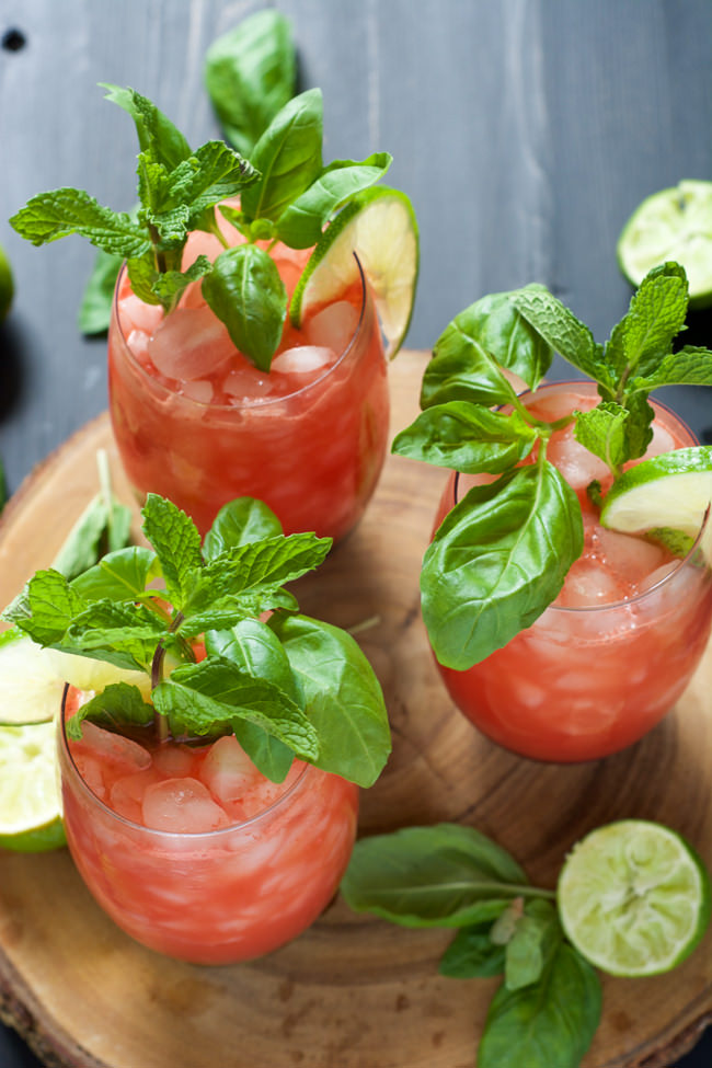 Sparkling Watermelon Limeade Recipes — Dishmaps