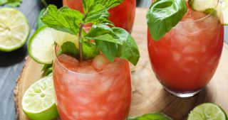 Skinny Watermelon Limeade