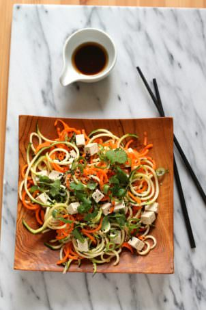 Asian Veggie Noodle Salad | The Muffin Myth