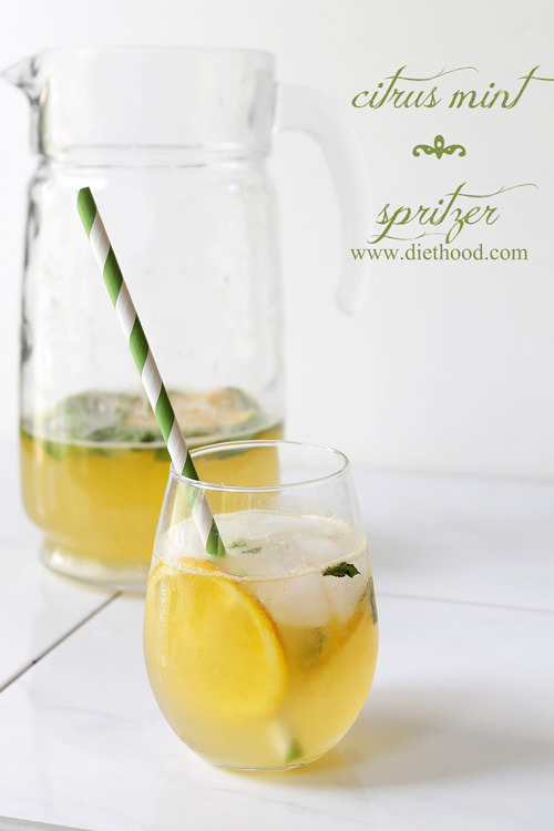Citrus Mint Spritzer | Diethood