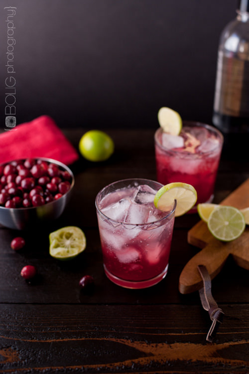 Clean Cranberry with Lime and Club Soda | Everyday Maven
