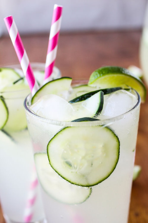Easy Cucumber Lime Punch | The Food Charlatan