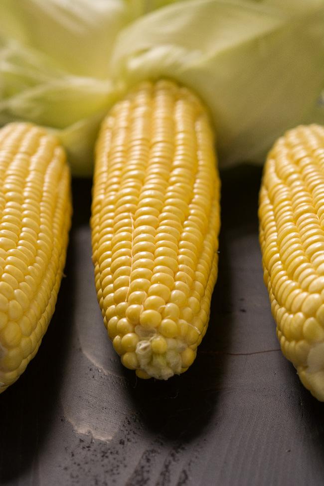 Grilled Garlic Parmesan Corn on the Cob