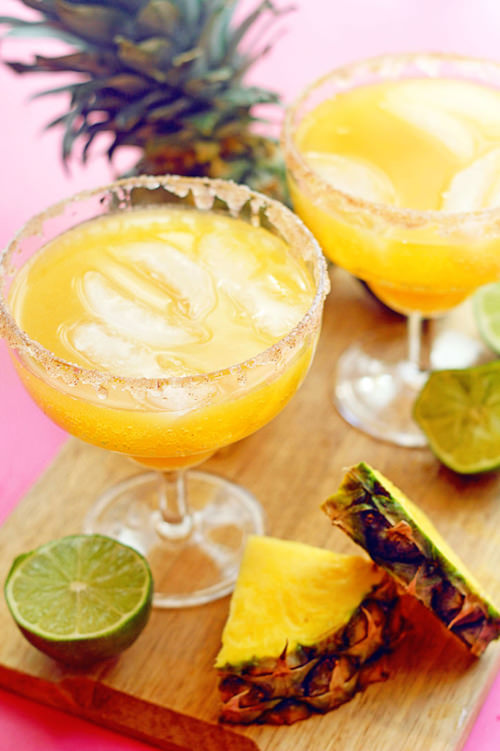 Pineapple Mocktail Margaritas | Grandbaby Cakes