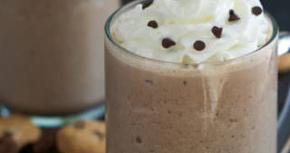 Skinny Double Chocolate Chip Cookies and Cream Frappuccino