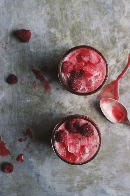 Raspberry Chamomile Cream Sodas   With Food & Love