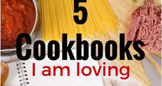 The Cooking Class Files: 5 Cookbooks I Am Loving