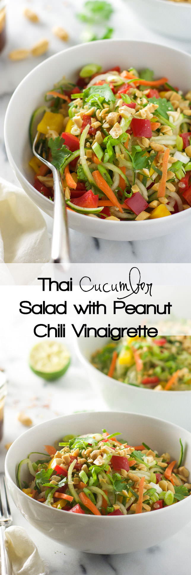 Cucumber Peanut Salad Recipe — Dishmaps