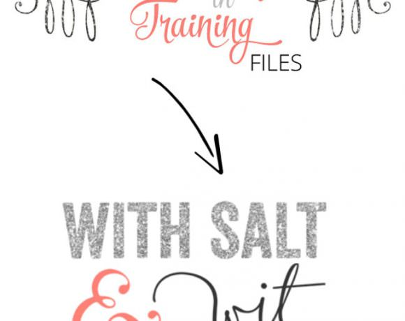 Introducing With Salt and Wit! {New Blog Name}