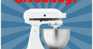 {One More!} KitchenAid Mixer Giveaway! {Closed}