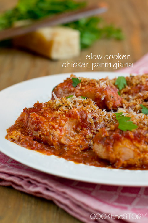 Slow Cooker Chicken Parmesan   Cook the Story