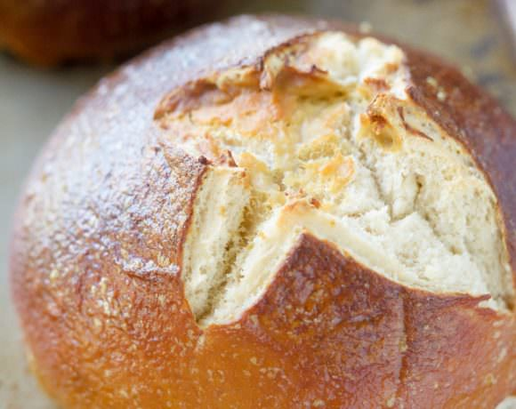 {Fool Proof} Homemade Pretzel Bread