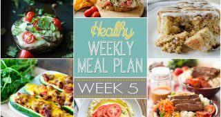Healthy Meal Plan Week #5