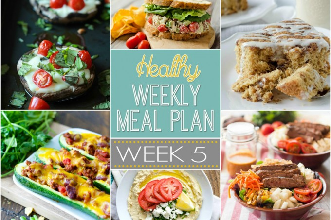 Healthy Meal Plan Week #5