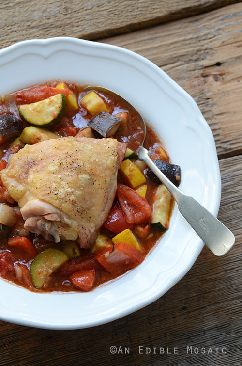 Roast Chicken Ratatouille | An Edible Mosaic