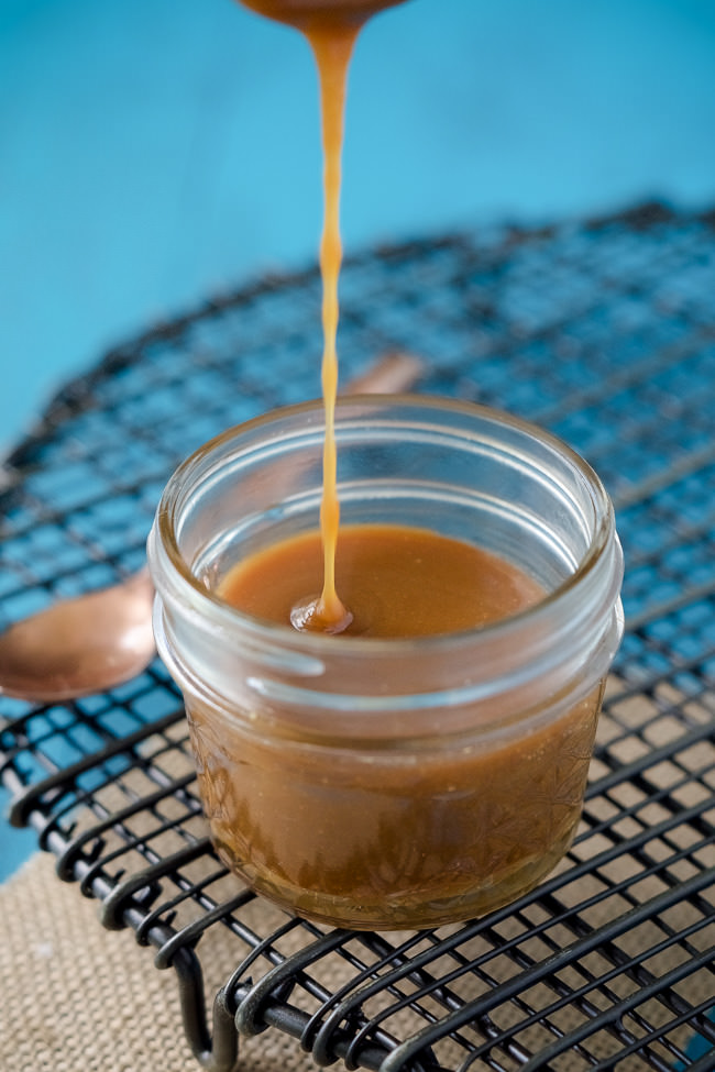 Simple} Lighter Salted Caramel Sauce