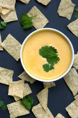 Skinny Queso Dip | With Salt and Wit