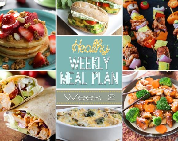 Healthy Meal Plan Week #2