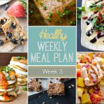 Healthy Meal Plan Week 3