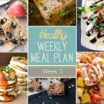 Healthy Meal Plan Week 3