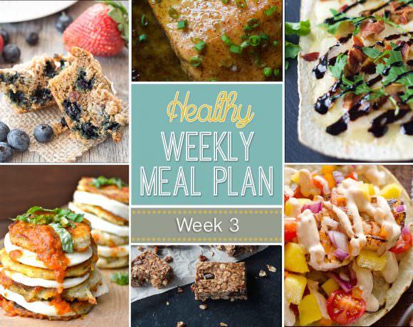 Healthy Meal Plan Week #3