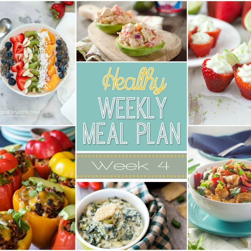 Planning A Healthy Meal: Healthy Meal Plan Week #4
