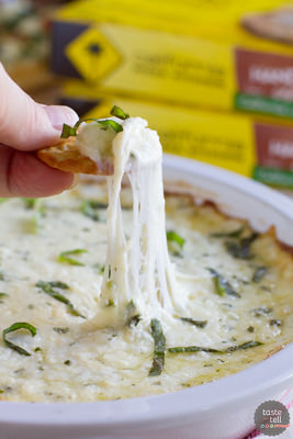 White Cheese Dip | Taste and Tell