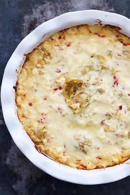 Feta Artichoke Dip | Crème de la Crumb