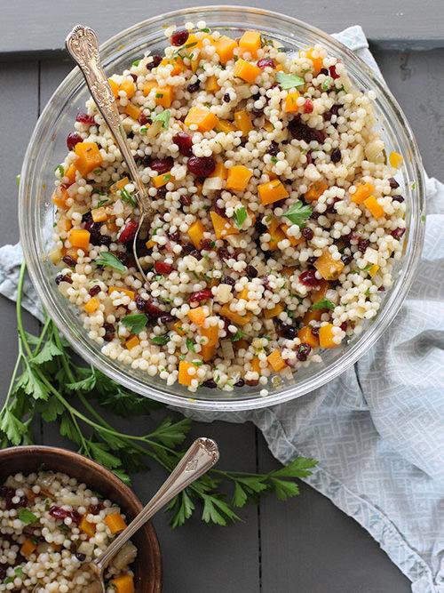 Autumn Couscous Salad | Foodie Crush