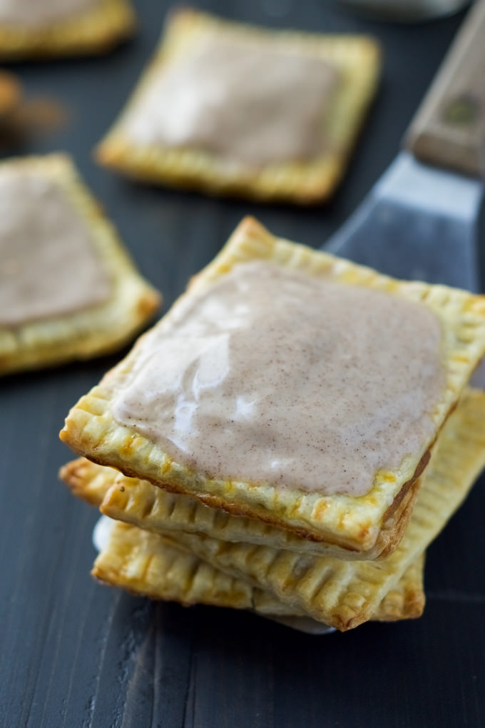 inspired Pumpkin Brown Sugar Cinnamon Pop Tarts! Using premade pie ...