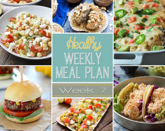 Healthy Meal Plan Week #7