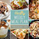 Healthy Weekly Meal Plan Week #8
