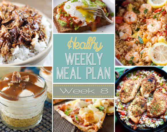Healthy Meal Plan Week #8