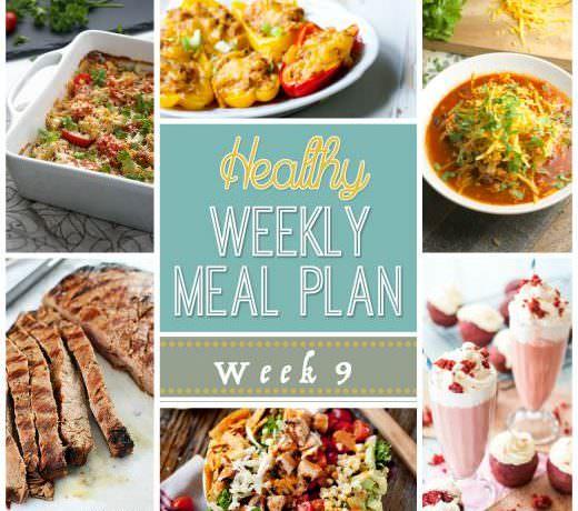 Healthy Meal Plan Week #9