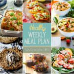 Healthy Weekly Meal Plan #6