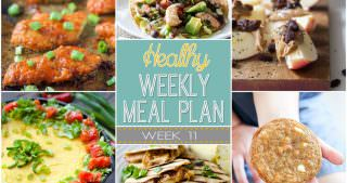 Healthy Meal Plan Week #11