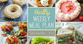 Healthy Meal Plan Week #14
