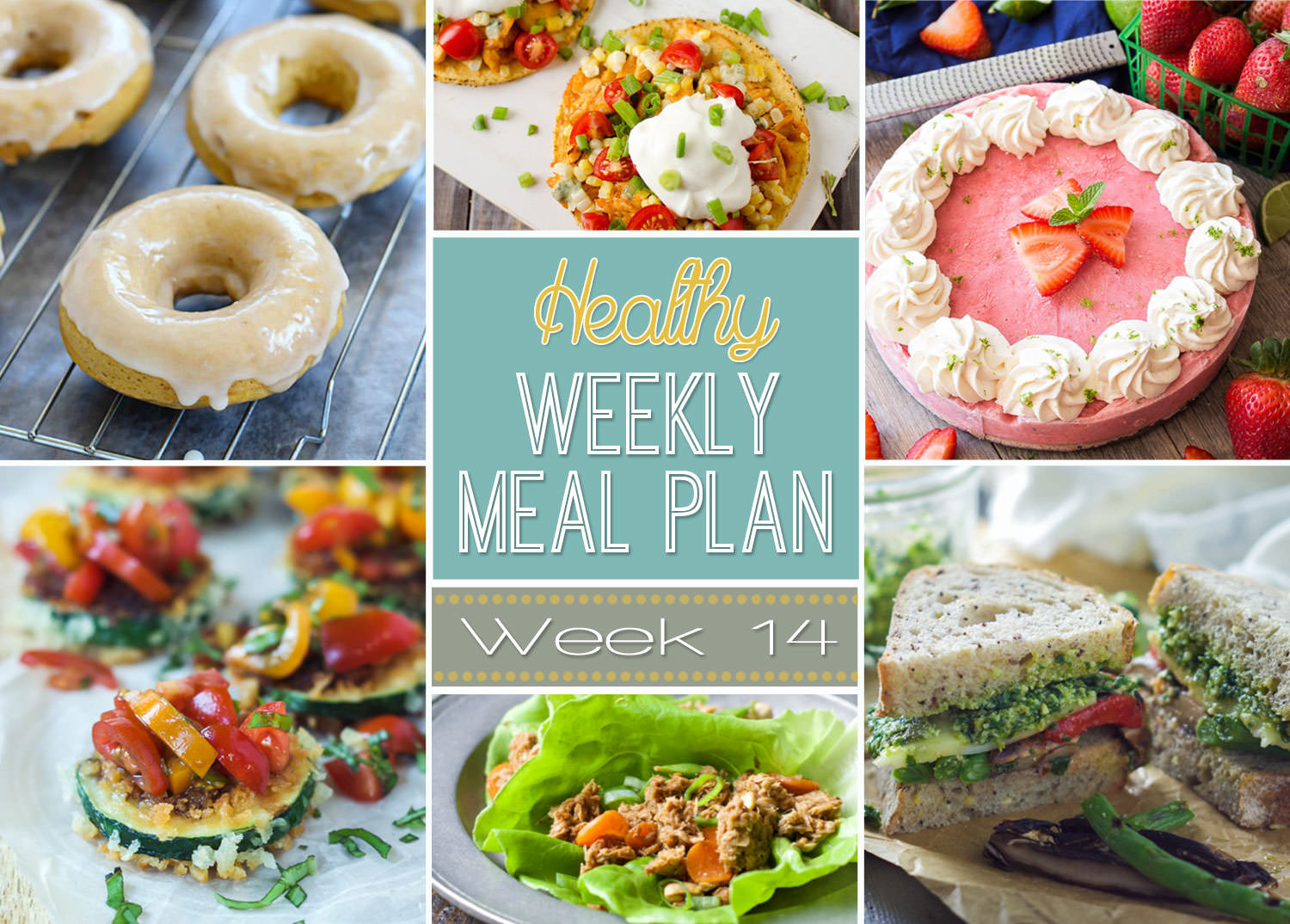 Healthy Meal Plan Week #14 is full of healthy comfort food to help you warm up from all this cold weather!