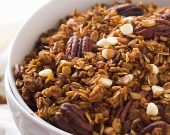 Slow Cooker Maple Pumpkin Granola
