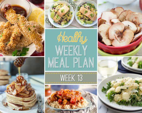 Healthy Meal Plan Week #13