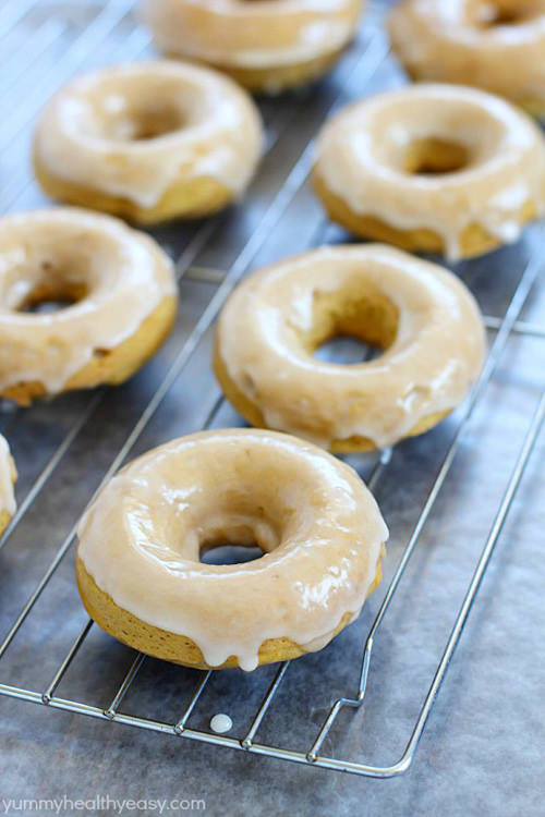 You won't believe the incredible flavor in these Baked Pumpkin Donuts… especially since they're so easy to make! Every bite is soft, moist and full of pumpkin & spice flavors. One of the best donut recipes out there!