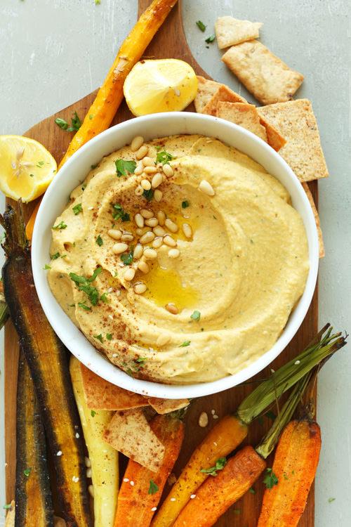 Butternut Squash Hummus | Minimalist Baker