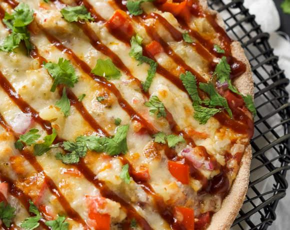 Chipotle BBQ Chicken Cast Iron Skillet Pizza