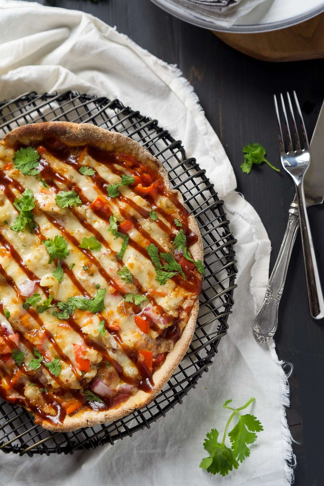 how to make bbq base pizza
